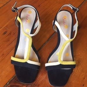 Boden multi colored wedge shoes.
